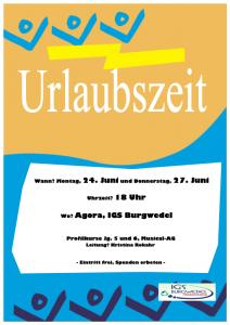 Erster Musical an der IGS Burgwedel