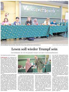Pressemeldung: Lesen soll wieder Trumpf sein
