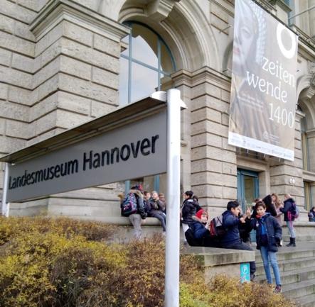 Besuch des Landesmuseums in Hannover
