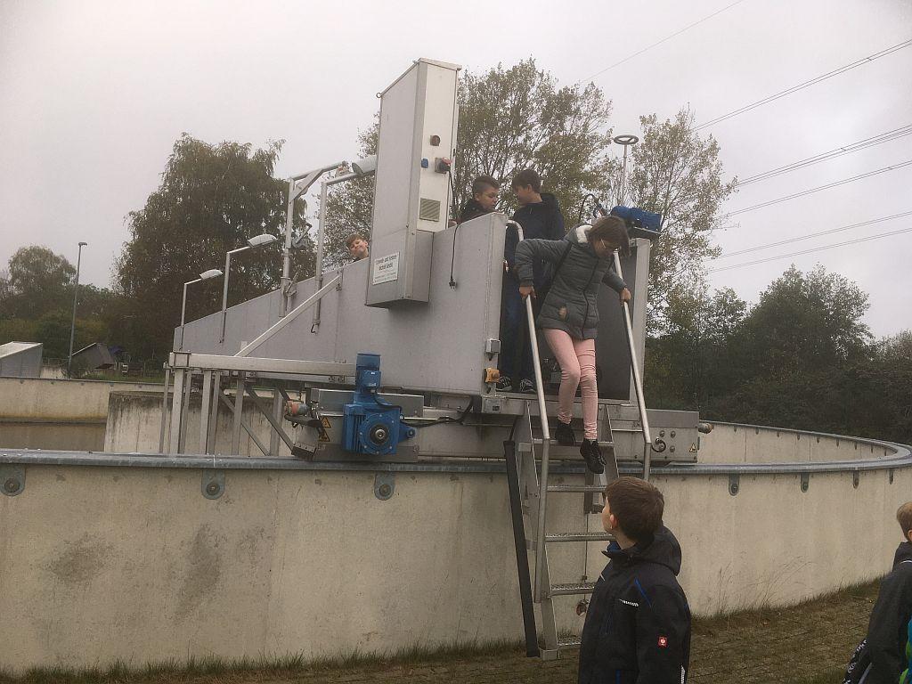 Alles sauber! – Zu Besuch im Klärwerk Großburgwedel