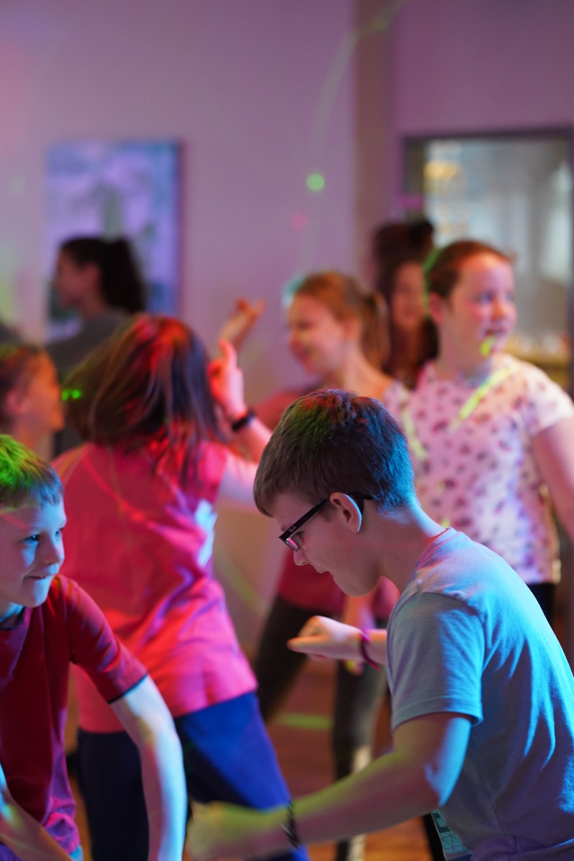 Sportsparty in der Tanzschule Bothe