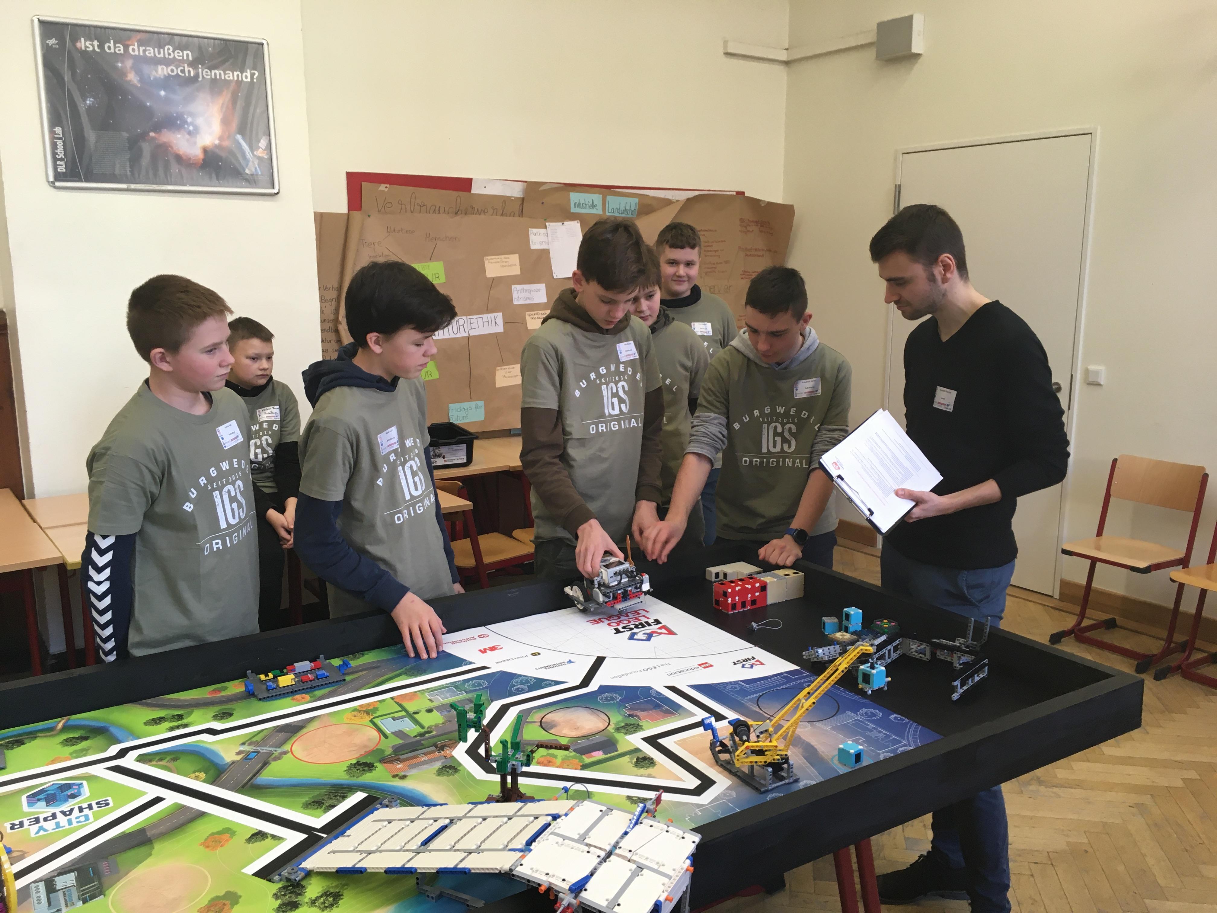 "WPK Robotik nimmt an ""City Shaper""-Wettbewerb teil"