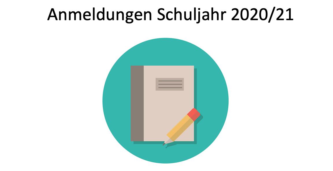 Anmeldeunterlagen für das Schuljahr 2020/21 zum Download verfügbar