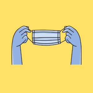 Information: Maskenpflicht vor der Schule