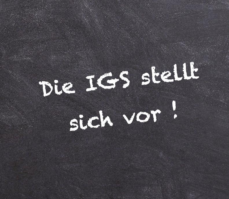 Wir über uns – Präsentation zum digitalen Infoabend der IGS Burgwedel
